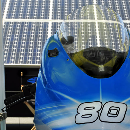 2012: 1st Solar Powered Superbike