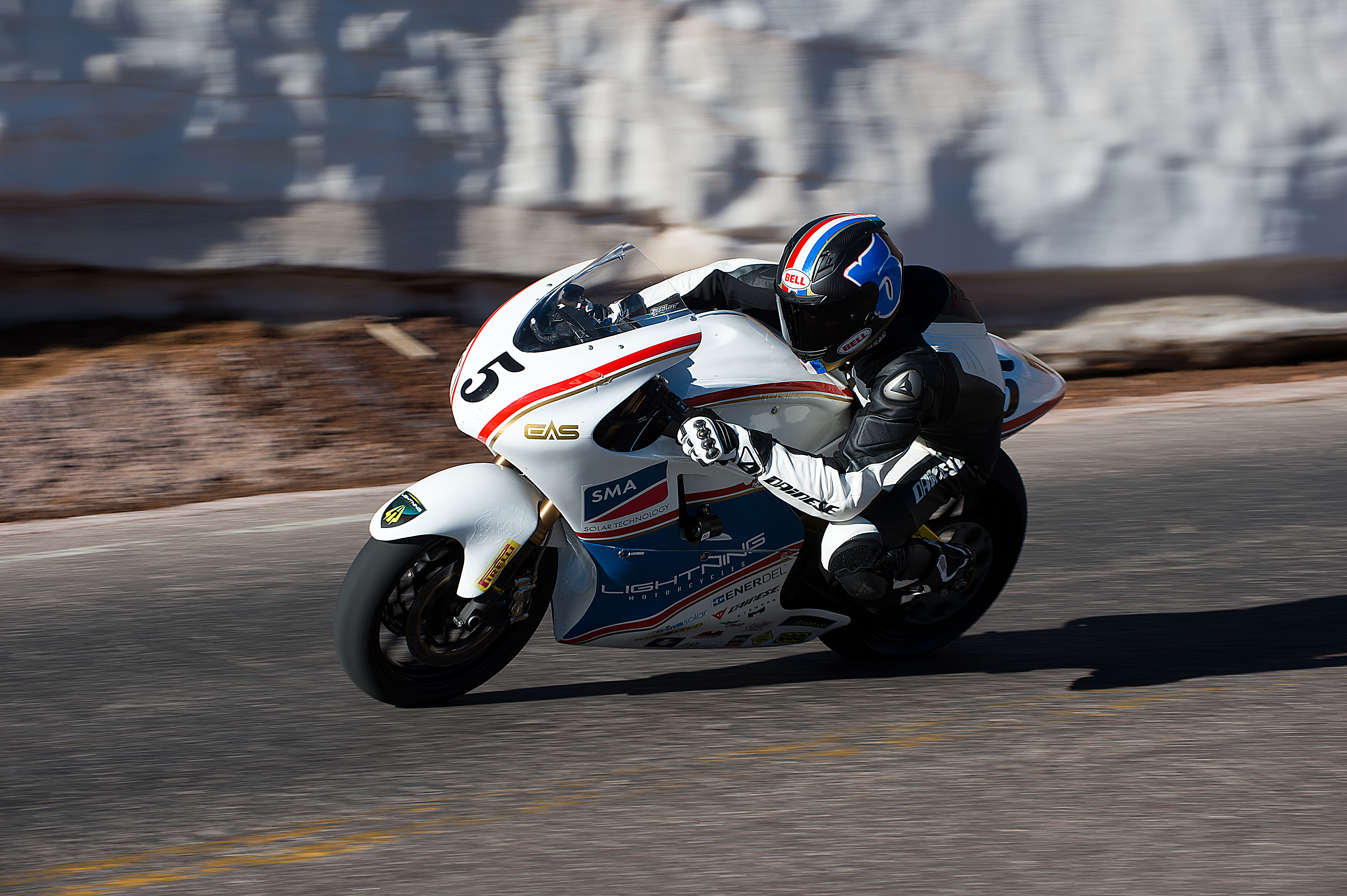 2013 Lightning Electric Motorcycle Made History at Pikes Peak