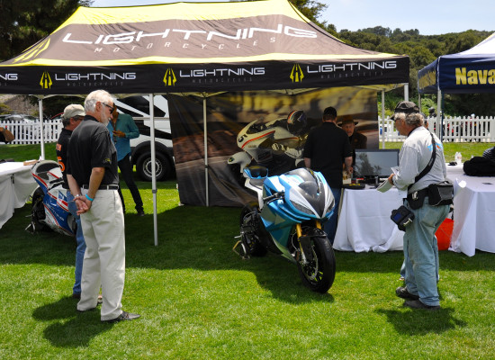 The Booth @ the Quail Motorcycle Gathering