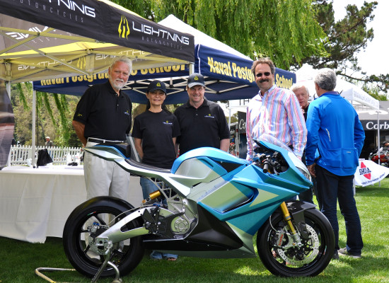 The LS-218 Debut @ The Quail Motorcycle Gathering