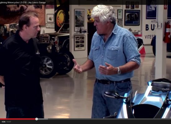 Lightning on Jay Leno Show